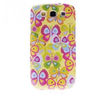 Coque rigide Samsung Galaxy S3 motif - Papillon
