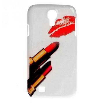 Coque rigide Samsung Galaxy S4 motif - Rouge à lèvre