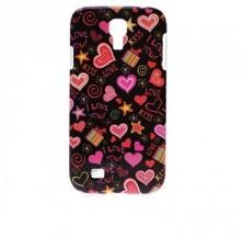 Coque rigide Samsung Galaxy S4 motif - Coeur