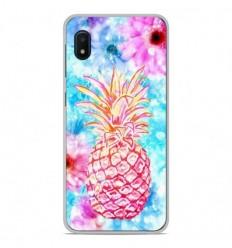 Coque en silicone Samsung Galaxy A10e - Ananas