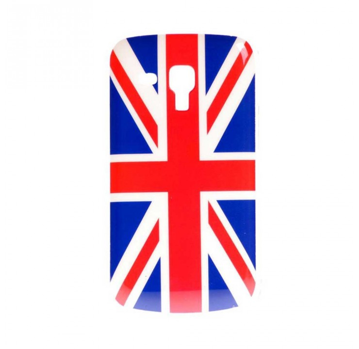 Coque rigide Samsung Galaxy Trend / Trend Plus motif - Drapeau anglais