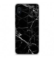 Coque en silicone Samsung Galaxy A10e - Marbre Noir
