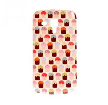 Coque rigide Samsung Galaxy Trend / Trend Plus motif - Cupcake