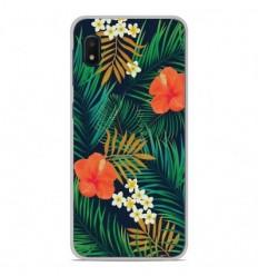 Coque en silicone Samsung Galaxy A10e - Tropical