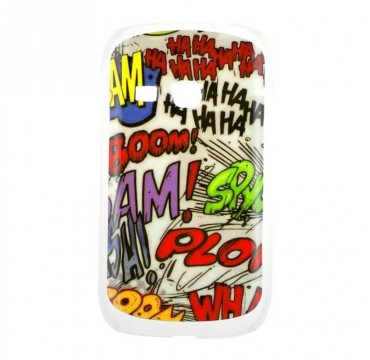 Coque rigide Samsung Galaxy Young motif - Bande dessinée