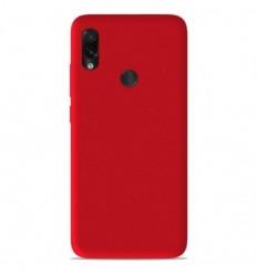 Coque Xiaomi Redmi Note 7 / Note 7 Pro Silicone Gel mat - Rouge Mat