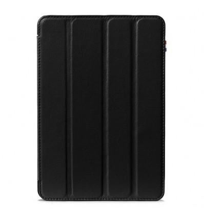 Housse tablette Apple iPad 2017 - Véritable cuir Noir