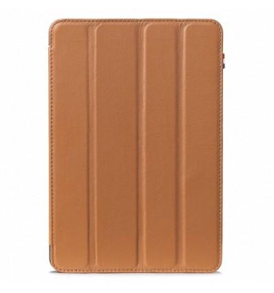 Housse tablette Apple iPad Mini 4 - Véritable cuir Noir