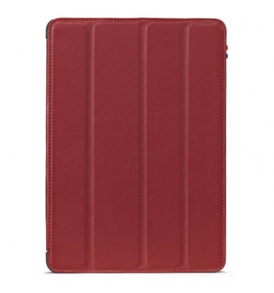 Housse tablette Apple iPad Air 2 - Véritable cuir Rouge
