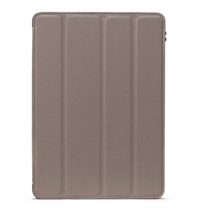 Housse tablette Apple iPad Air 2 - Véritable cuir Gris