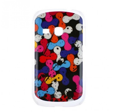 Coque rigide Samsung Galaxy Young motif - Coloré graphique