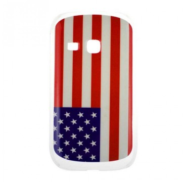Coque rigide Samsung Galaxy Young motif - Usa