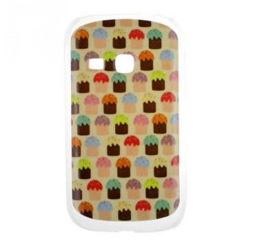 Coque rigide Samsung Galaxy Young motif - Cupcake
