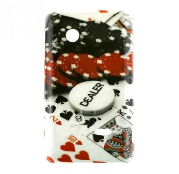 Coque rigide Sony Xperia Tipo motif - Casino