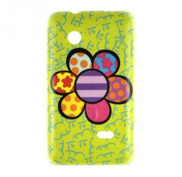 Coque rigide Sony Xperia Tipo motif - Fleurs