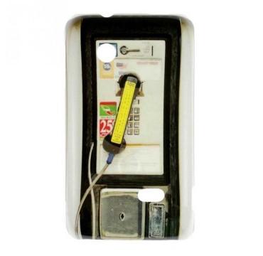 Coque rigide Sony Xperia Tipo motif - Cabine téléphonique