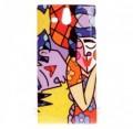 Coque rigide Sony Xperia U motif - Style picasso
