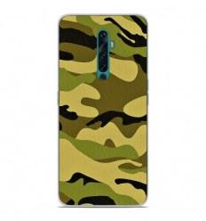 Coque en silicone Oppo Reno 2Z - Camouflage