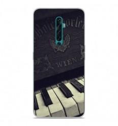 Coque en silicone Oppo Reno 2Z - Old piano