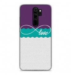 Coque en silicone Xiaomi Redmi Note 8 Pro - Love Violet