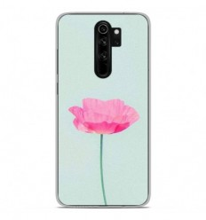 Coque en silicone Xiaomi Redmi Note 8 Pro - Fleur Rose