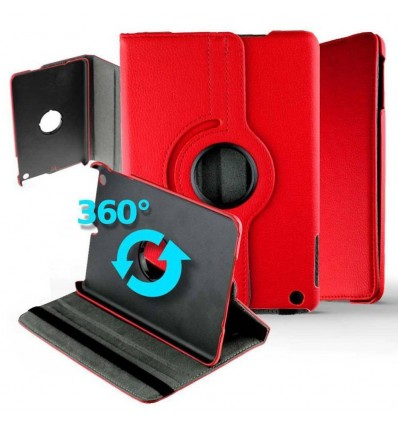 Housse rotative 360° tablette Samsung Galaxy Tab S6 T860 - Rouge