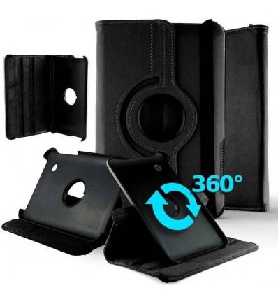 Housse rotative 360° tablette Apple iPad 2019 - Noir