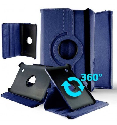 Housse rotative 360° tablette Huawei Media Pad M5 8.4'' - Bleu