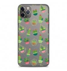 Coque en silicone Apple iPhone 11 Pro Max - Cactus