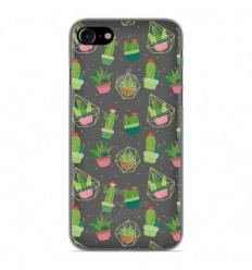 Coque en silicone Apple iPhone 8 - Cactus