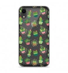 Coque en silicone Apple iPhone XR - Cactus