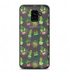 Coque en silicone Samsung Galaxy A8 2018 - Cactus