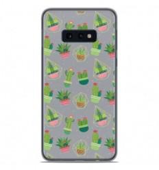 Coque en silicone Samsung Galaxy S10e - Cactus