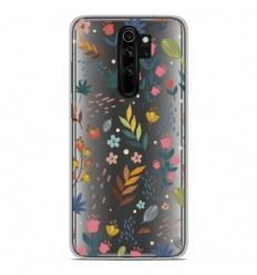 Coque en silicone Xiaomi Redmi Note 8 Pro - Fleurs colorées