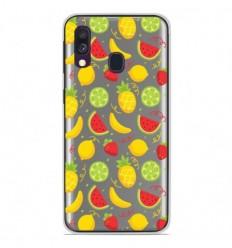 Coque en silicone Samsung Galaxy A50 - Fruits tropicaux