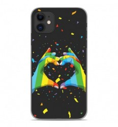Coque en silicone Apple iPhone 11 - LGBT