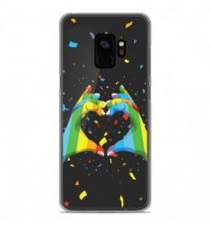 Coque en silicone Samsung Galaxy S9 - LGBT
