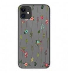 Coque en silicone Apple iPhone 11 - Montée de fleurs