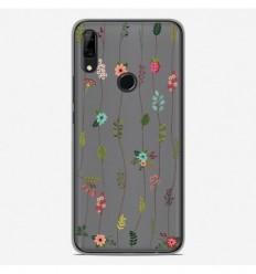 Coque en silicone Huawei P Smart Z - Montée de fleurs