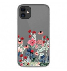 Coque en silicone Apple iPhone 11 - Printemps en fleurs