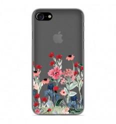 Coque en silicone Apple iPhone 7 - Printemps en fleurs