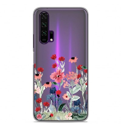 Coque en silicone Huawei Honor 20 Pro - Printemps en fleurs