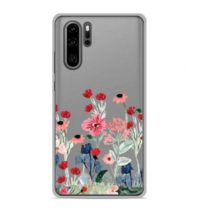Coque en silicone Huawei P30 Pro - Printemps en fleurs