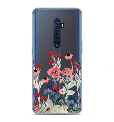 Coque en silicone Oppo Reno 2 - Printemps en fleurs