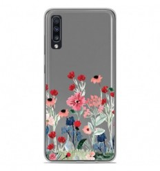 Coque en silicone Samsung Galaxy A70 - Printemps en fleurs