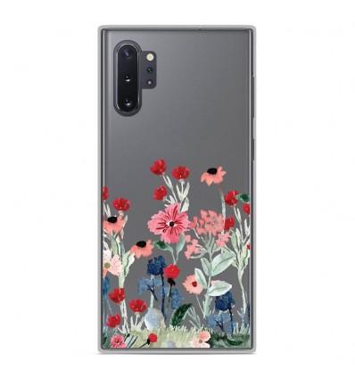 Coque en silicone Samsung Galaxy Note 10 Plus - Printemps en fleurs