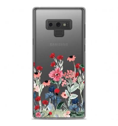 Coque en silicone Samsung Galaxy Note 9 - Printemps en fleurs