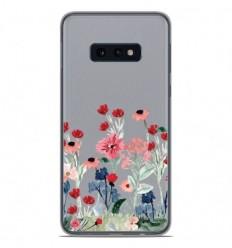 Coque en silicone Samsung Galaxy S10e - Printemps en fleurs