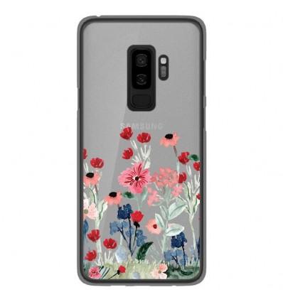 Coque en silicone Samsung Galaxy S9 Plus - Printemps en fleurs