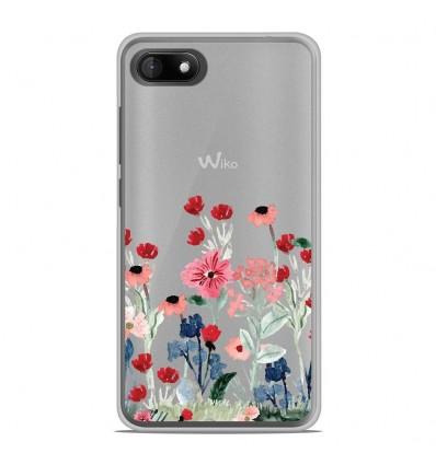 Coque en silicone Wiko Sunny 3 - Printemps en fleurs